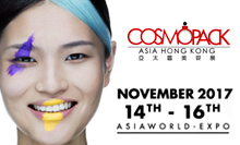 At Cosmopack Asia the next November