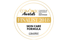 Finalisti a The Wall di Cosmopack – Formula Skin Care